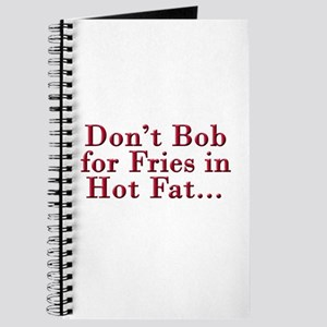 Don't Bob for Fries [R] Journal